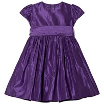 Oscar De La Renta Purple Dress Purple