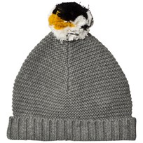 Stella McCartney Kids Penguin Pom Pom Knit Hat 1461