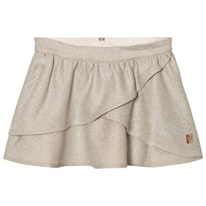 Image of Carrément Beau Gold Lurex Wrap Front Skirt 2 years (2743752291)