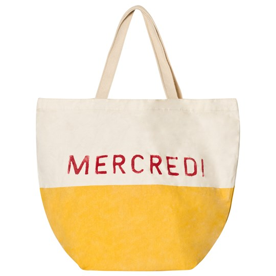 Bobo Choses Mercredi Petit Tote Bag Yellow