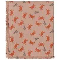 Bobo Choses Crab Your Hands Sjal Beige