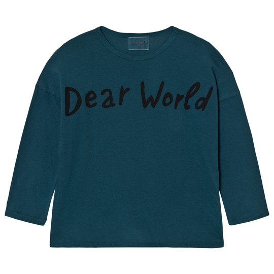 Bobo Choses T-Shirt Dear World Blue