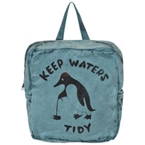 Bobo Choses School Bag Keep Waters Tidy Blue