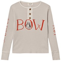 Bobo Choses Buttons T-Shirt Bow Beige