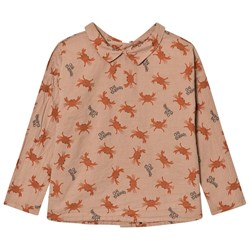 Bobo Choses Buttons Blouse Crab Your Hands