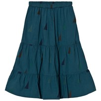 Bobo Choses Long Skirt Sails Blue