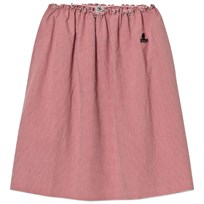 Bobo Choses Long Flared Skirt Vichy Pink