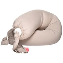 bbhugme Pregnancy and Breastfeeding Pillow Sand/White Sand/Hvit