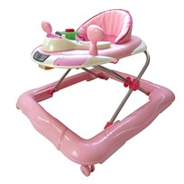 Basson Baby Walker Walk'n Gåbord Play Rosa Multi