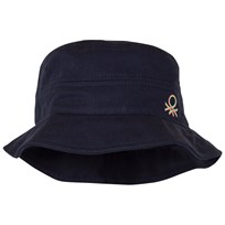 United Colors of Benetton Navy Cotton Sun Hat Navy