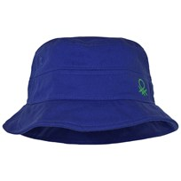 United Colors of Benetton Blue Cotton Sun Hat Blue
