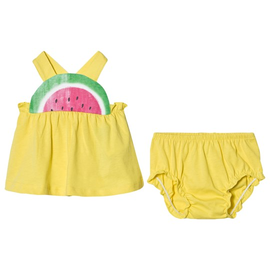 United Colors of Benetton Top and Pants Set Watermelon Yellow Yellow