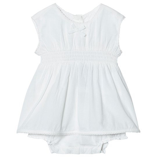 United Colors of Benetton Sleeveless A Line Dress In Organic Cotton With Hidden Knickers Beige Beige