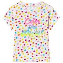 United Colors of Benetton Polka Dot Print T-Shirt White White