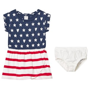 Image of GAP Print Tulip Dress Flag 2 år (3056050115)