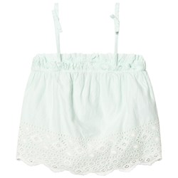 Gap Eyelet Border Bow Topp Aqua Sea