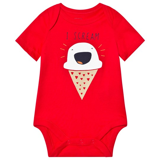 GAP Graphic Short Sleeve Body Pure Red PURE RED V2