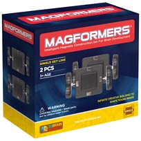 Magformers Wheels 2 Piece Set Unisex