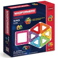Magformers 14 Piece Rainbow Set Unisex