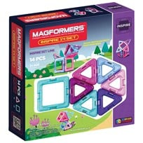 Magformers Window Inspire Solid Clear Set 14 Delar Unisex