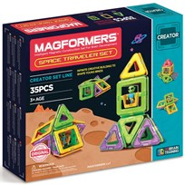Magformers Space Traveler 35 Piece Set Unisex