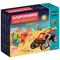 Magformers Adventure Desert 32 Piece Set Unisex