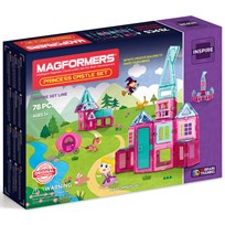 Magformers Princess Castle 78 Piece Set Unisex