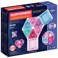 Magformers Window Inspire Solid Clear 30 Piece Set Unisex