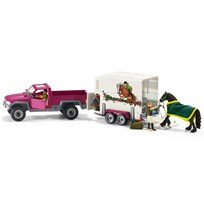 Schleich Pick Up with Horse Box Unisex