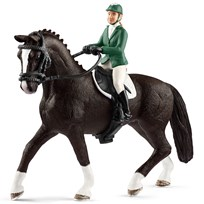 Schleich Showjumper with Horse Unisex