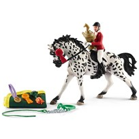 Schleich Showjumping tournament w. Knabstrupper Unisex