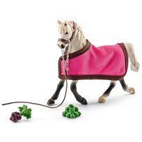 Schleich Arab Mare with Blanket Unisex