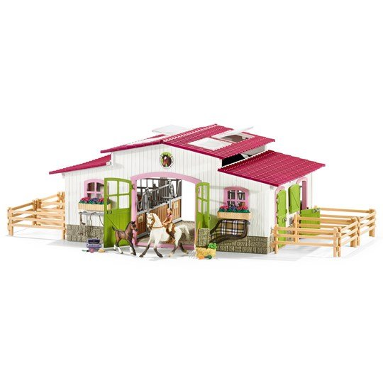 Schleich Riding Center with Rider and Horses Unisex