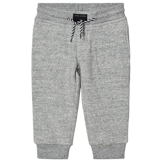 Little Marc Jacobs Grey Branded Sweat Pants A35