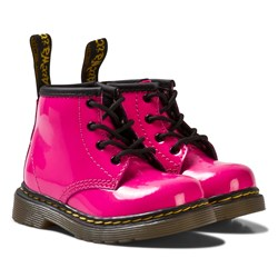 Dr. Martens Pink Infant Brooklee B Patent Boots