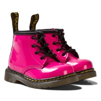 Dr. Martens Pink Patent Brooklee Delaney Boots Pink Patent