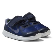 NIKE Free RN 2 Infant Shoe Binary Blue BINARY BLUE/DARK SKY BLUE-OBSIDIAN
