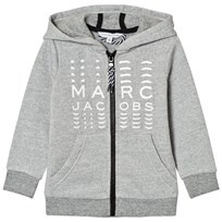 Little Marc Jacobs Grey Branded Hoody A35