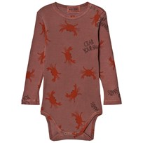 Bobo Choses Baby Body Crab Your Hands Pink