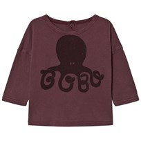 Bobo Choses Baby T-Shirt Octopus Purple