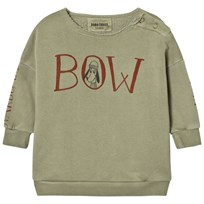 Bobo Choses Baby Sweatshirt Bow Beige