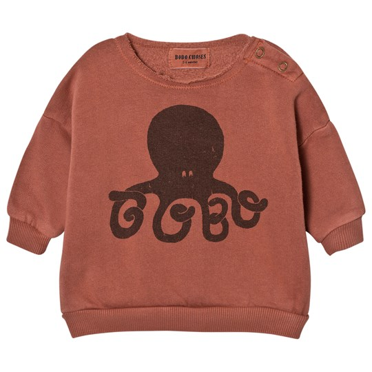 Bobo Choses Baby Sweatshirt Octopus Pink