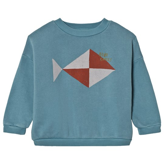 Bobo Choses Sweatshirt Fish Blue