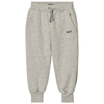 Bobo Choses Sweatpants Grey Melange Black