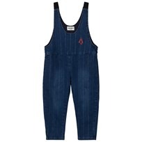 Bobo Choses Denim Baggy Overall Blue