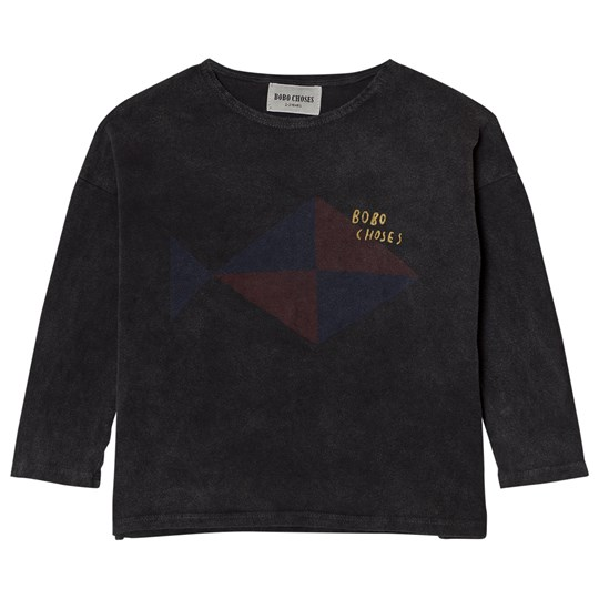 Bobo Choses T-Shirt Fish BROWN