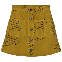 Bobo Choses Buttons Skirt Flocks Green