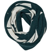 Bobo Choses Knitted Scarf Alma Green