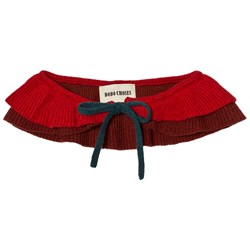 Bobo Choses Ruffles Knitted Collar Dusty Cedar