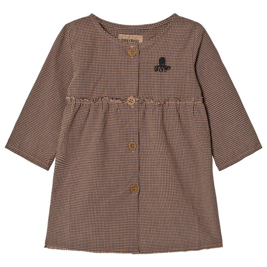Bobo Choses Vichy Baby Princess Klänning BROWN